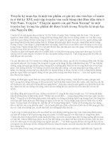 Phân tích tác phẩm Chuyện Người con gái Nam Xương của Nguyễn Dữ (bài1)