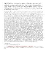 Phân tích Vẻ đẹp cổ điển và hiện đại của Tràng Giang nhà thơ Huy Cận_bài 1