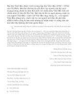 Hãy phân tích đoạn thơ sau đây trong bài thơ Việt Bắc của Tố Hữu: Những đường Việt Bắc của ta...Vui lên Việt Bắc đèo De, núi Hồng.