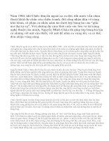 Những giá trị về nội dung và nghệ thuật trong truyện ngắn Chiếc thuyền ngoài xa của tác giả Nguyễn Minh Châu.