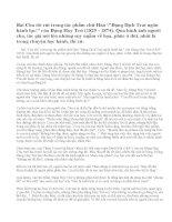 Hình ảnh người cha trong bài Cha tôi trích Đặng Dịch Trai ngôn hành lục của Đặng Huy Trứ