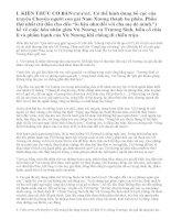 Soạn bài Chuyện người con gái Nam Xương (Trích Truyền kì mạn lục) Nguyễn Dữ