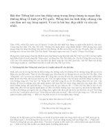Hãy nêu nội dung bài thơ Tiếng hát con tàu và giải thích ý nghĩa nhan đề đó của bài thơ. Bình giảng khổ thơ được lấy là đề từ của bài thơ.