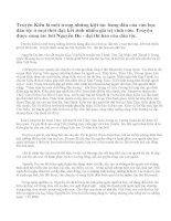 Em hãy viết bài văn giới thiệu về tác phẩm Truyện Kiều của Nguyễn Du