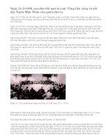 Hiệp định Pari năm 1973 về chấm dứt chiến tranh, lập lại hòa bình ở Việt Nam