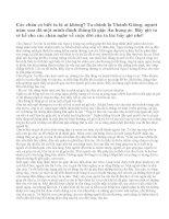 Trong vai Thánh Gióng, hãy kể lại câu chuyện Thánh Gióng (bài 2)