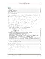 báo cáo truyền nhiệt ống chùmthí nghiệm CN quá trình và thiết bị