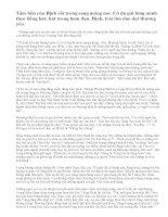 Phân tích và cảm nghĩ về nhân vật Phương Định trong truyện ngắn Những ngôi sao xa xôi của Lê Minh Khuê.