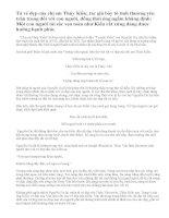 Phân tích đoạn thơ: Chị em Thuý Kiều (bài 2).