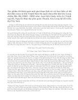 Phân tích Hồi thứ mười bốn rút trong tác phẩm Hoàng Lê nhất thống chí của Ngô gia văn phái và phát biểu cảm nghĩ.