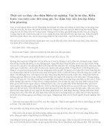 Kể lại bằng lời văn của mình nội dung đoạn trích Mã Giám Sinh mua Kiều
