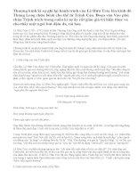 Cảm nhận về đoạn văn Vào phủ chúa Trịnh trích Thượng kinh ký sự của Lê Hữu Trác