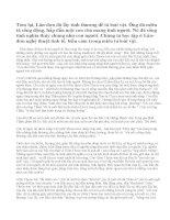 Hãy phân tích và nêu cảm nghĩ của em khi đọc Con chó Bấc trích tiêu thuyết Tiếng gọi nơi hoang dã của G. Lân-đơn.