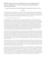 Phân tích nhân vật Dế Mèn trong tác phẩm Dế Mèn phiêu lưu kí của nhà văn Tô Hoài