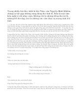 Đôi nét về thơ trữ tình Nguyễn Bỉnh Khiêm
