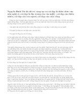 Phân tích và nêu cảm nhận của em về bài Tiếng nói của văn nghệ của Nguyễn Đinh Thi.