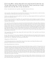 Cảm nhận khi đọc cầu Long Biên- chứng nhân lịch sử của Thuý Lan