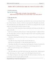 Dạy học theo chủ đề tìm HIỂU về HIỆU ỨNG NHÀ KÍNH BIỆN PHÁP hạn CHẾ sự GIA TĂNG HIỆU ỨNG NHÀ KÍNH