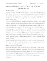 skkn một số KINH NGHIỆM về dạy học GIẢI PHƯƠNG TRÌNH TÍCH  toán 8