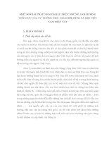 MỘT SỐ GIẢI PHÁP NHẰM KHẮC PHỤC NHỮNG ẢNH HƯỞNG TIÊU CỰC CỦA TƯ TƯỞNG NHO GIÁO ĐỜI SỐNG XÃ HỘI VIỆT NAM HIỆN NAY