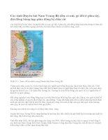 Điều kiện tự nhiên và tài nguyên thiên nhiên duyên hải Nam Trung Bộ