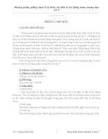 skkn phương pháp giảng dạy tỉ lệ thức và dãy tỉ số bằng nhau trong đại số 7