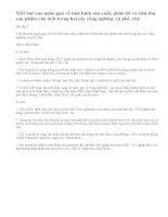 Bài 2 trang 112 sgk địa lí 9