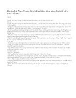Câu 1 trang 99 sgk địa lí 9