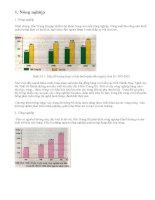 Tình hình phát triển kinh tế Bắc Trung Bộ