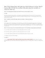 Bài 3, 4, 5 trang 112 SGK Sinh 12