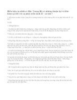 Bài 1 trang 85 sgk địa lí 9