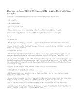 Câu 1 trang 100 sgk địa lí 9