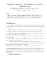 nckh  áp DỤNG KIẾN THỨC về ĐƯỜNG THẲNG SONG SONG và số PHI để tạo mặt PHẲNG CHUẨN TRONG xây DỰNG