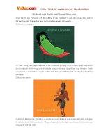 10 thành ngữ 'buồn cười' trong tiếng Anh