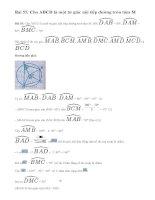 Bài 55 trang 89 sgk toán lớp 9 tập 2