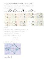 Bài 3 trang 67 sgk toán 8 tập 1