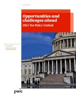 tax policy opportunities and challenges 2015