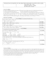 Đề và đáp án thi học sinh giỏi lớp 12 môn hóa 2012 2013 tỉnh quảng bình vòng 1