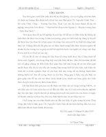 Thiết kế hồ chứa nước ngành 2 – huyện lương sơn – tỉnh hòa bình (thuyết minh + bản vẽ)