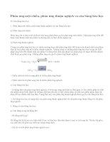 Lý thuyết Cân bằng hóa học