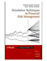 Simulation techniques in financial risk management,  0471469874