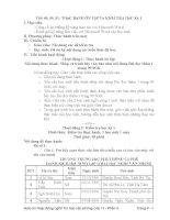 Giáo án tin 11   tiết 49, 50, 51 THựC HàNH ôn tập và KIểM TRA học kỳ 1