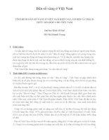 Tiểu luận TÌNH HÌNH dân số VÀNG ở VIỆT NAM HIỆN NAY, cơ hội và THÁCH THỨC, bài học CHO VIỆT NAM   đại học kinh tế huế   hồ thị khánh trang