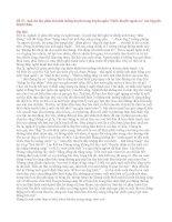 """Đề 57: Anh chị hãy phân tích tình huống truyện trong truyện ngắn """"Chiếc thuyền ngoài xa"""" của Nguyễn Minh Châu."""