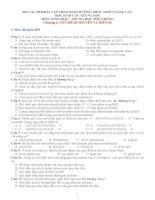 BỘ câu hỏi bài tập THEO ĐỊNH HƯỚNG PHÁT TRIỂN NĂNG lực học SINH cấp TRUNG học môn sinh học