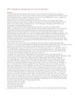 """Đề 37: Cảm nhận bài """"Đàn ghi ta của F.G.Lorca"""" của Thanh Thảo."""