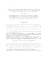 SECOND MAIN THEOREMS FOR MEROMORPHIC MAPPINGS INTERSECTING MOVING HYPERPLANES WITH TRUNCATED COUNTING FUNCTIONS AND UNICITY PROBLEM