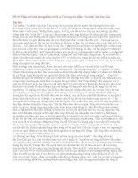 """Đề 49: Phân tích hình tượng nhân vật bà cụ Tứ trong tác phẩm """"Vợ nhặt"""" của Kim Lân."""