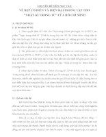 VẺ đẹp cổ điển và HIỆN đại của tập THƠ NHẬT kí TRONG tù của hồ CHÍ MINH)