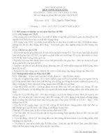 ĐỀ CƯƠNG BÀI GIẢNG  HỌC PHẦN  GIÁO DỤC HỌC ĐẠI CƯƠNG